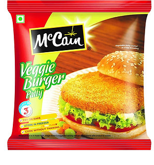 Veggie Burger Patty  MCCAIN    360g