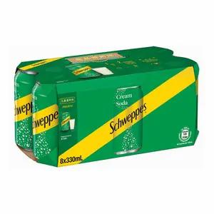 Schweppes Cream Soda x8    330mlx8