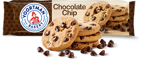 Chocolate Chip  VOORTMAN COOKIES   200g