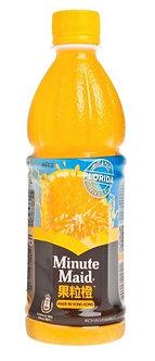 Minute Maid Orange Juice Drink   420ml
