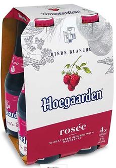 Hoegaarden Rose pack x4    250mlx4