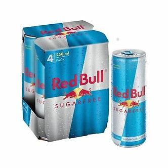 RedBull Sugar free x4    250mlx4