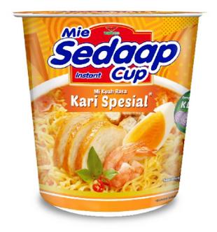 Kari Spesial Cup Noodles MIE SEDAAP    81g