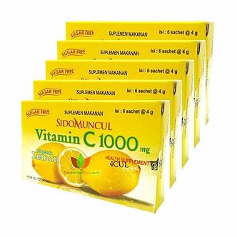 Vitamin C 1000mg Lemon SIDOMUNCUL   24g