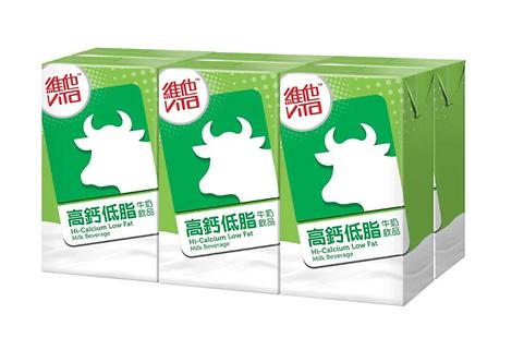 Hi-Calcium Low Fat Milk Beverage  VITA    250mlx6