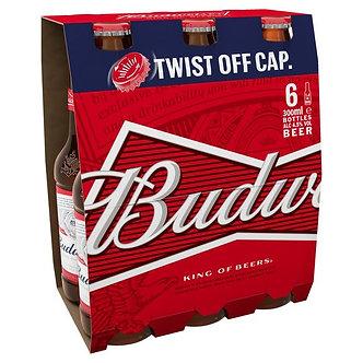 Budweiser pack x6    355mlx6