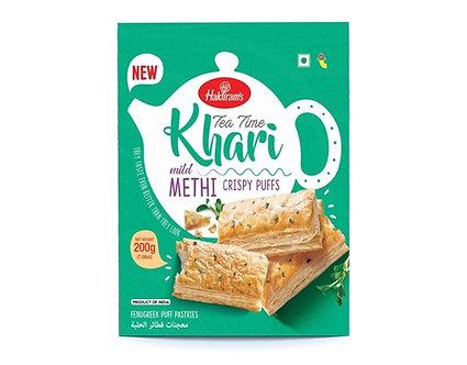 Tea Time Khari Mild Methi HALDIRAM'S    200g