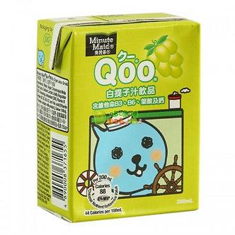 Qoo White Grape Juice Drink   200ml