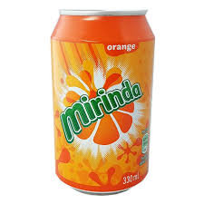 Miranda Orange Can MINUTE MAID   330ml
