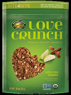 Love Crunch Organic Granola with Apple Crumble NATURE'S PATH    11.5oz