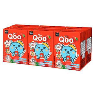 Qoo Apple Juice Drink  MINUTE MAID   200ml