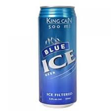 Blue Ice Beer King Can   500ml