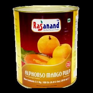 Alphonso Mango Pulp RASANAND   850g