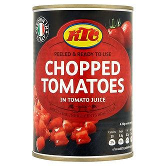 Chopped Tomatoes KTC  400g