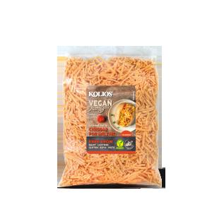 Vegan Cheddar Cheese Shredded  KOLIOS    200g