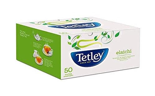 Tetley Elaichi 50 Teabags    100g