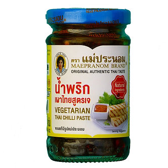 Vegetarian Thai Chilli Paste MAEPRANOM BRAND    8oz