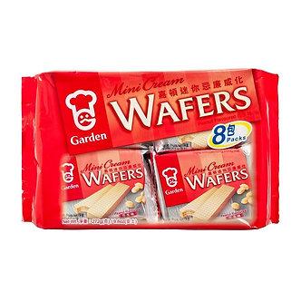 Cream Waffers- 8 Pack GARDEN   272g