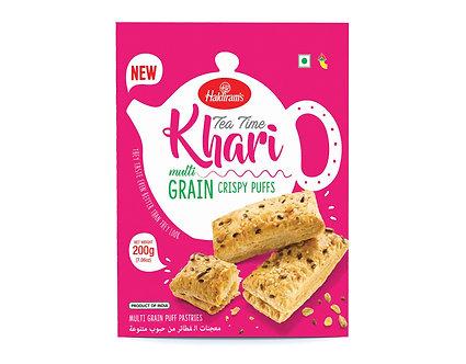 Tea Time Khari Multi Grain HALDIRAM'S   200g