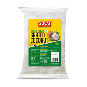 Freshly Frozen Grated Coconut SUVAI  250g