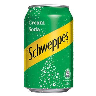 Cream Soda SCHWEPPES    330ml