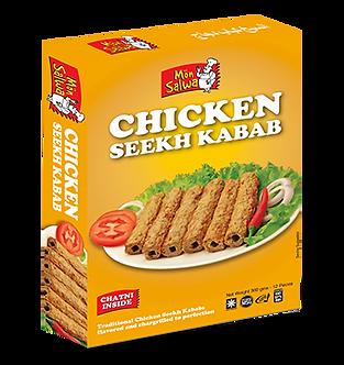 Chicken Seekh Kabab  MON SALWA   360g