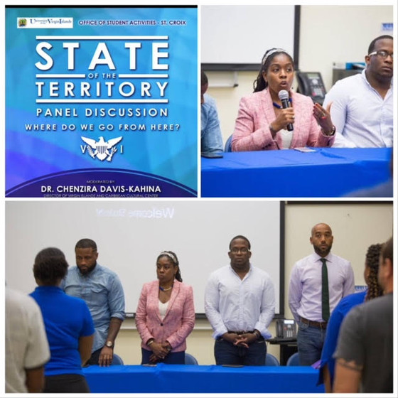 The University of the Virgin Islands Office of Student Activities host dynamic panel discussion on t