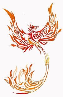 Image of a phoenix.