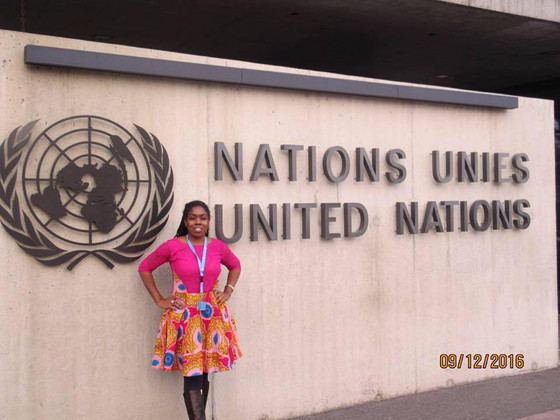 GENEVIEVE WHITAKER SELECTED FOR UNITED NATIONS HUMAN RIGHTS FELLOWSHIP