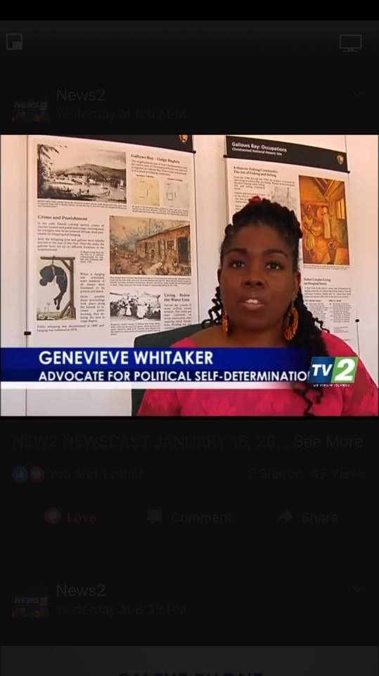 Genevieve Whitaker featured in the 2017 Dr. Martin Luther King Jr. Day News2 Special Story