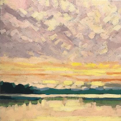 Pond Sunset