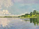 LHoag Pond Reflection 24x36 $2600.jpg