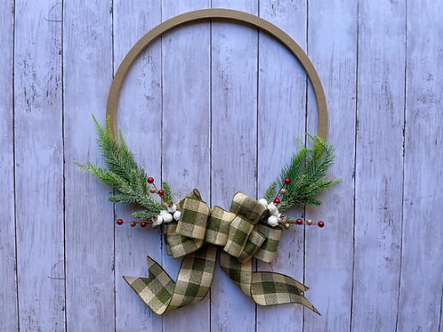 """16"""" Classic Holiday Ring Wreath"""
