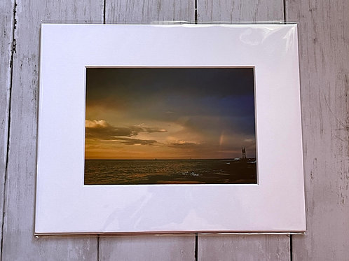 Rainbow at Indian River Inlet | 5x7