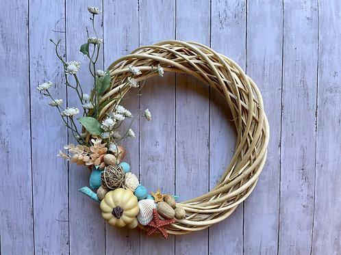 "18"" Rattan Wreath"