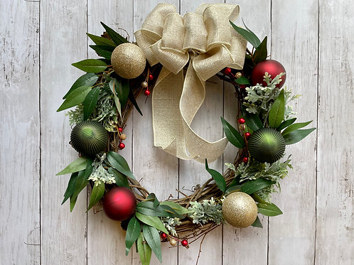 """14"""" Classic Holiday Wreath"""
