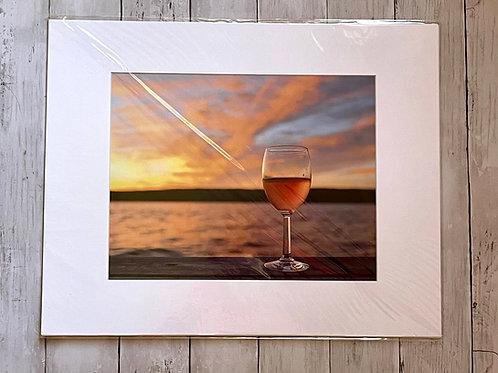 Sunrise Lake Seneca   11x14