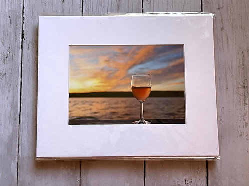 Sunrise Lake Seneca | 5x7