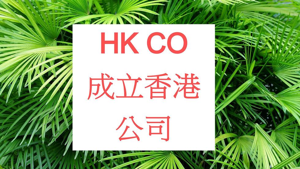 New Hong Kong Company 註冊成立香港公司