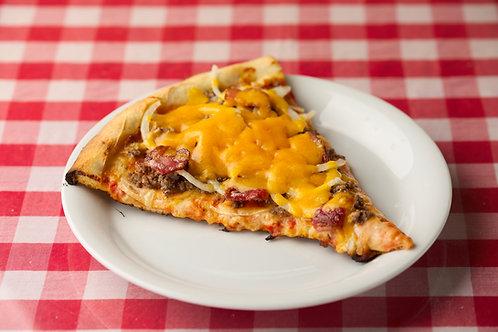 ベーコンチーズバーガーピザ Bacon Cheese Burger Pizza