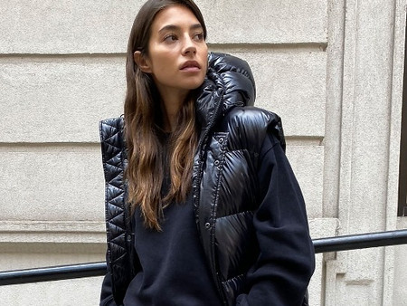 Winter Warmth - Long Puffer Vest