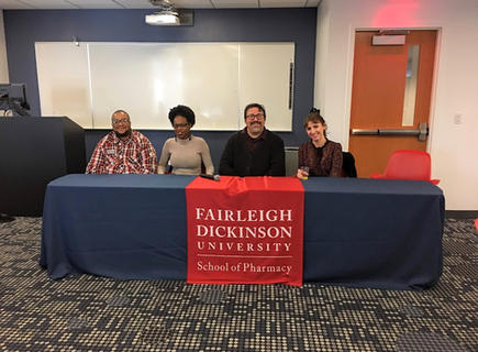 Transgender Issues in Healthcare Panel at Farleigh Dickinson University School of Pharmacy