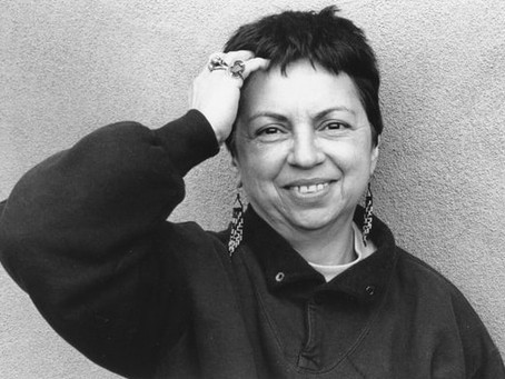 Happy #LGBTQHistoryMonth! Let's make sure it's as #intersectional as possible. #GloriaAnzaldúa