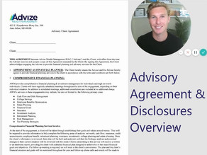 Overview of our Advisory Agreement and Disclosures