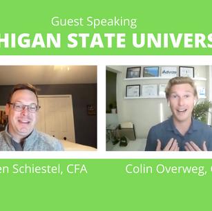 Colin Overweg, CFP® and professor Stephen Schiestel, CFA discuss Financial Planning topics