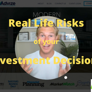 """""""Real Life Risks"""" of Investing"""