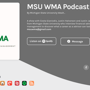 Michigan State University Wealth Management Podcast Ep.#6 Featuring Colin Oveweg, CFP®