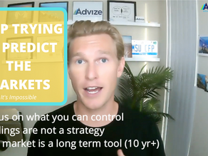 Stop Trying to Predict the Markets