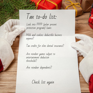 It's the most wonderful time of the year! (Tax Time)