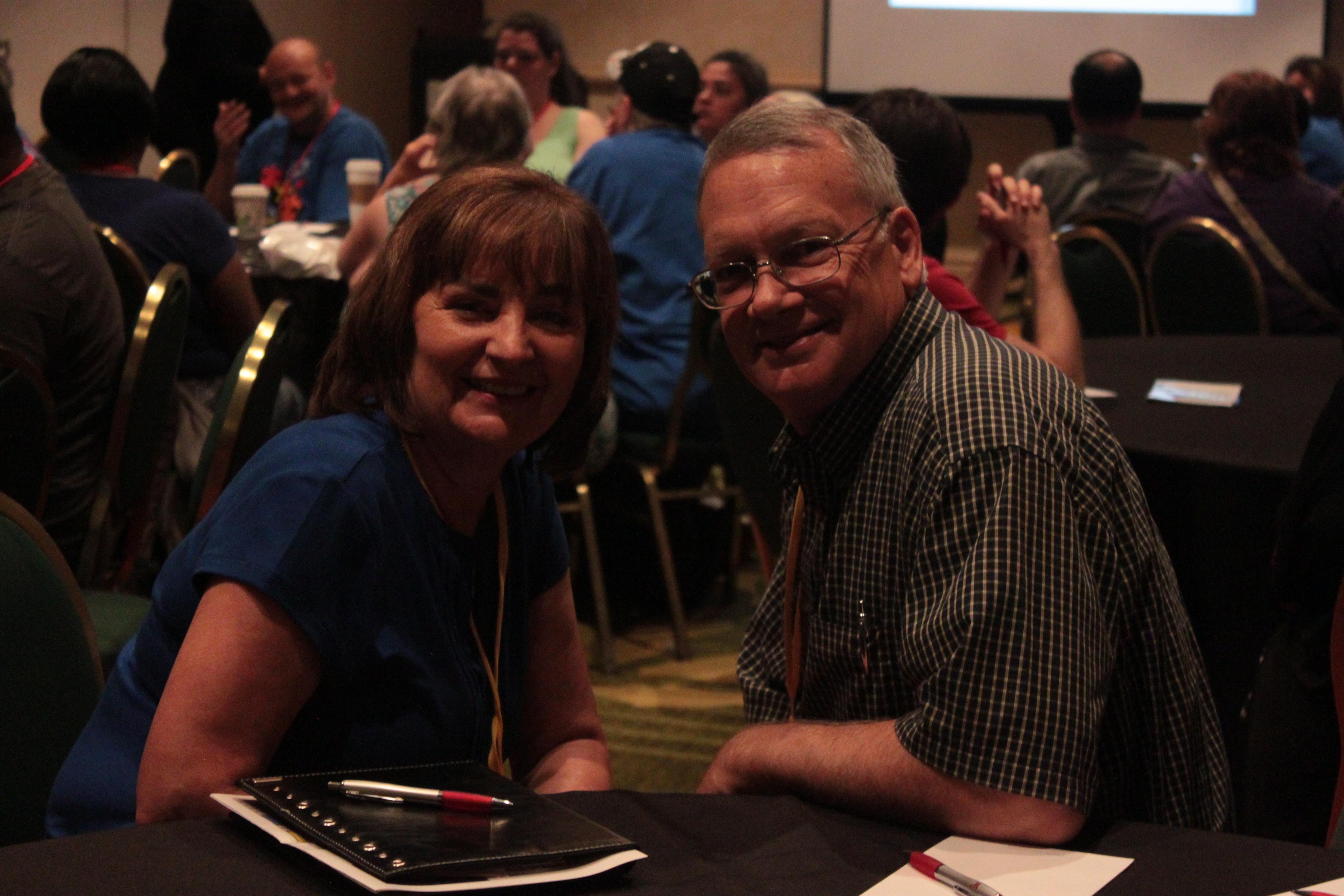 TCAC Board Members Edna Potts and Jim Wilson